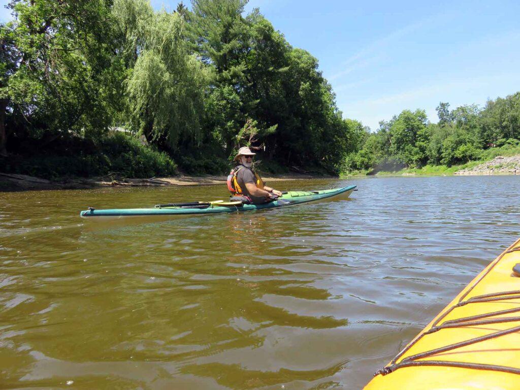 kayak de mer - Nerrivik Aventures - rivière l'Assomption -10