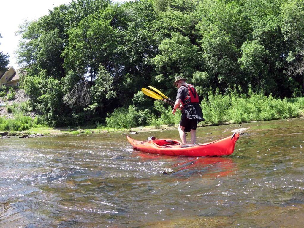 kayak de mer - Nerrivik Aventures - rivière l'Assomption -12