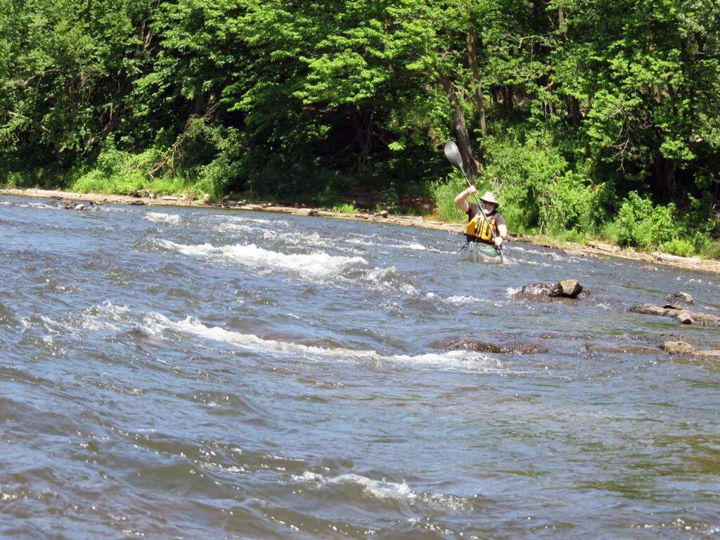 kayak de mer - Nerrivik Aventures - rivière l'Assomption -14