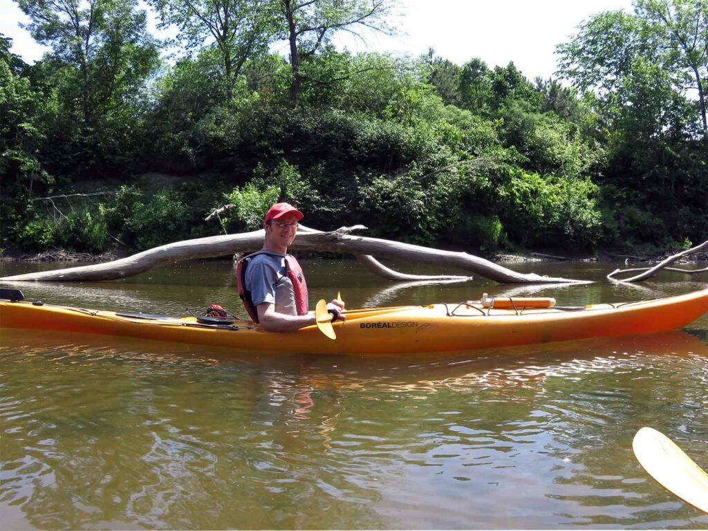 kayak de mer - Nerrivik Aventures - rivière l'Assomption -15