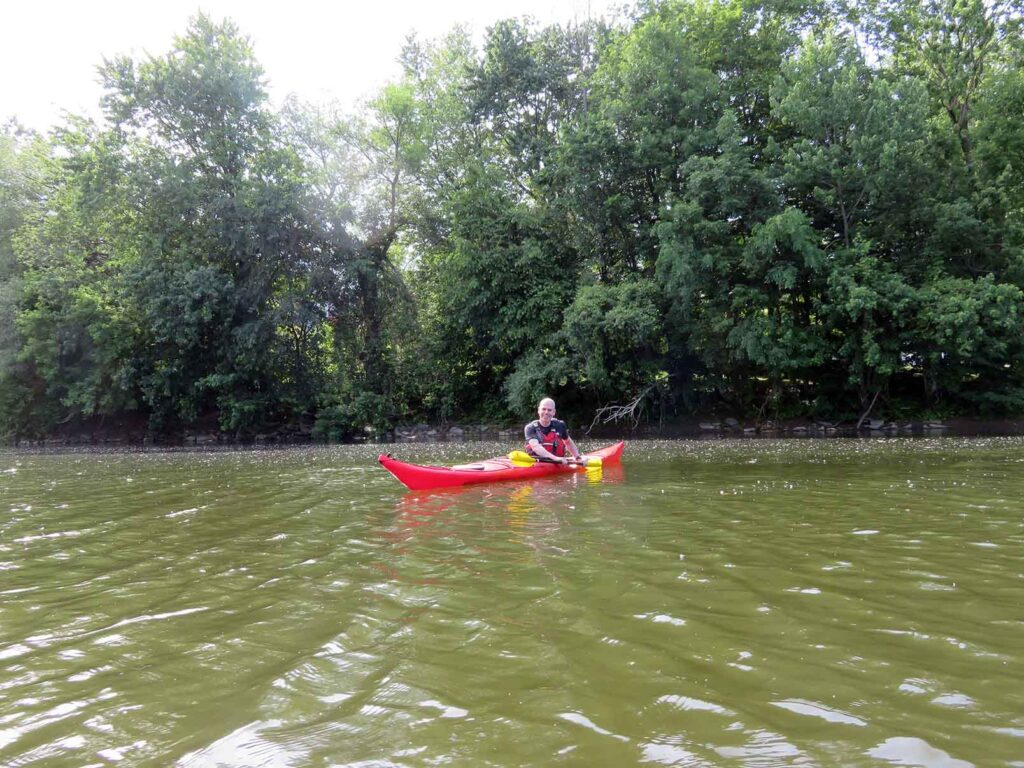 kayak de mer - Nerrivik Aventures - rivière l'Assomption -21
