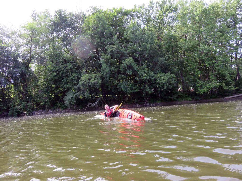 kayak de mer - Nerrivik Aventures - rivière l'Assomption -23