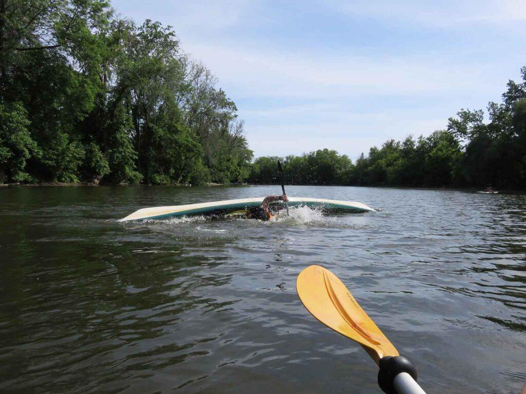 kayak de mer - Nerrivik Aventures - rivière l'Assomption -25