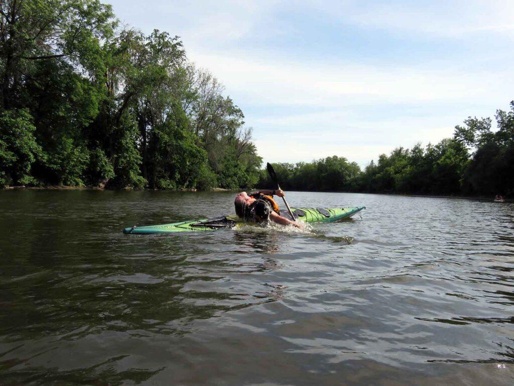 kayak de mer - Nerrivik Aventures - rivière l'Assomption -27