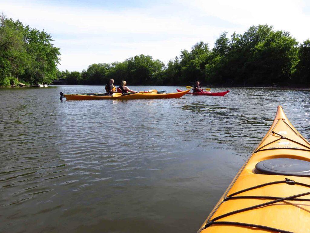 kayak de mer - Nerrivik Aventures - rivière l'Assomption -28