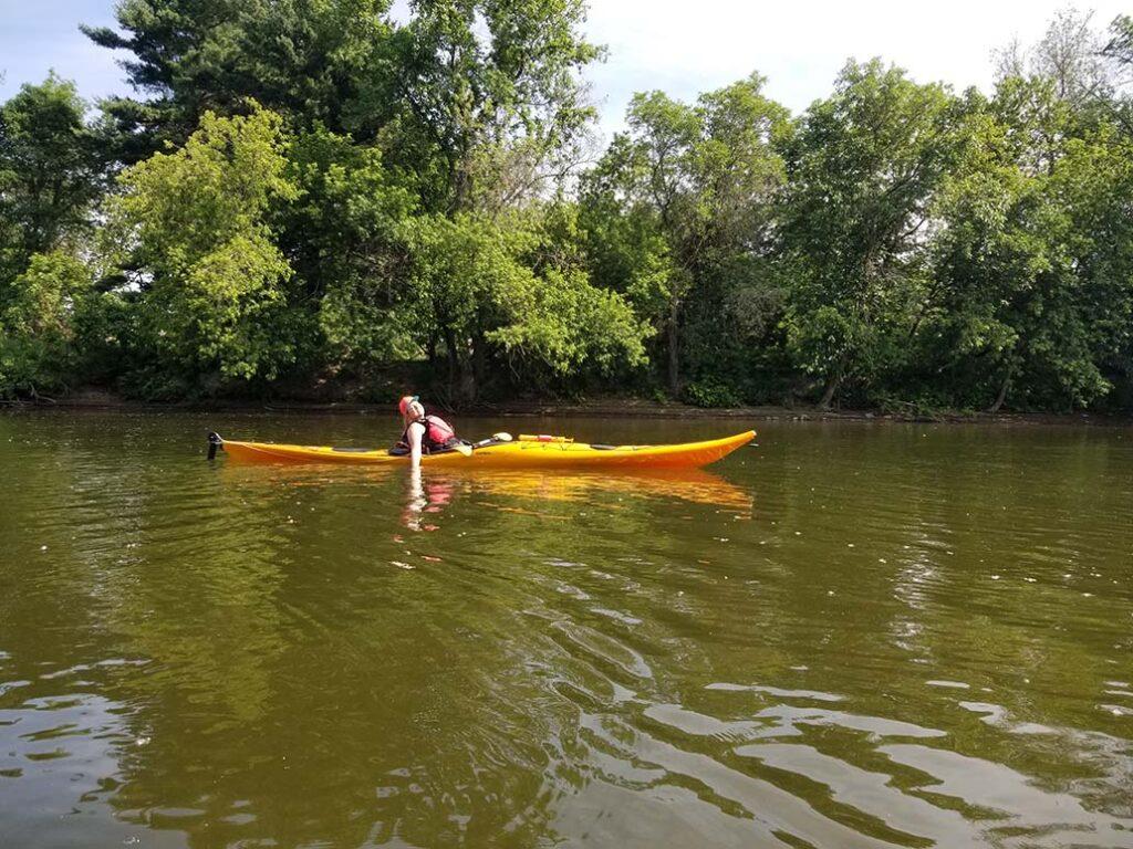 kayak de mer - Nerrivik Aventures - rivière l'Assomption -9